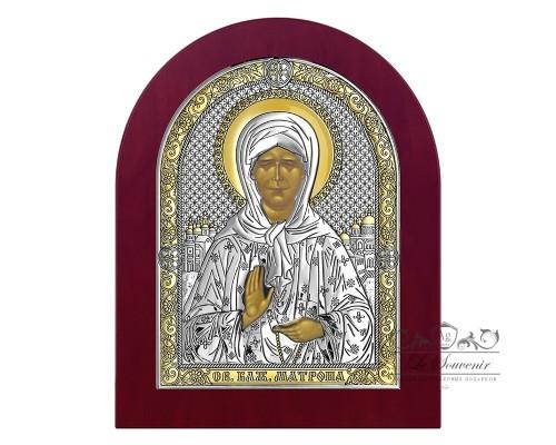 Серебряная Икона Beltrami Белтрами Матрона 6402