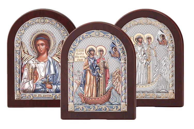 Купить икону в серебре в подарок