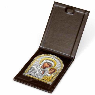 Серебряная икона Казанская Белтрами Beltrami