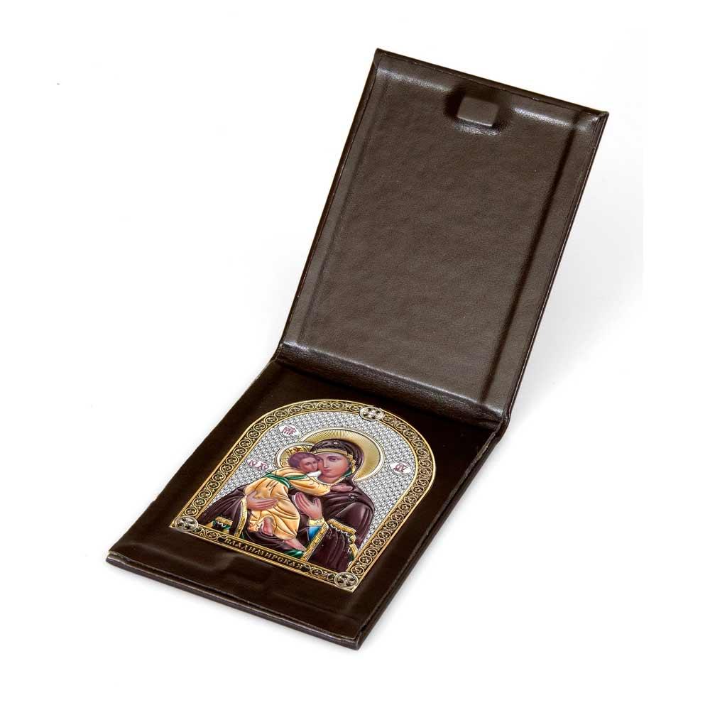 Серебряная икона Владимирская Белтрами Beltrami