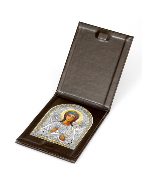 Серебряная икона Ангел Хранитель 6407-1O Белтрами Beltrami