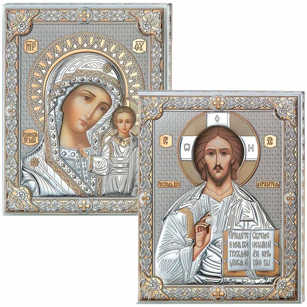 Серебряная Икона на венчание