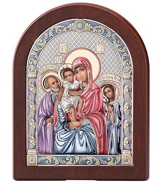 Серебряная Икона трех радостей