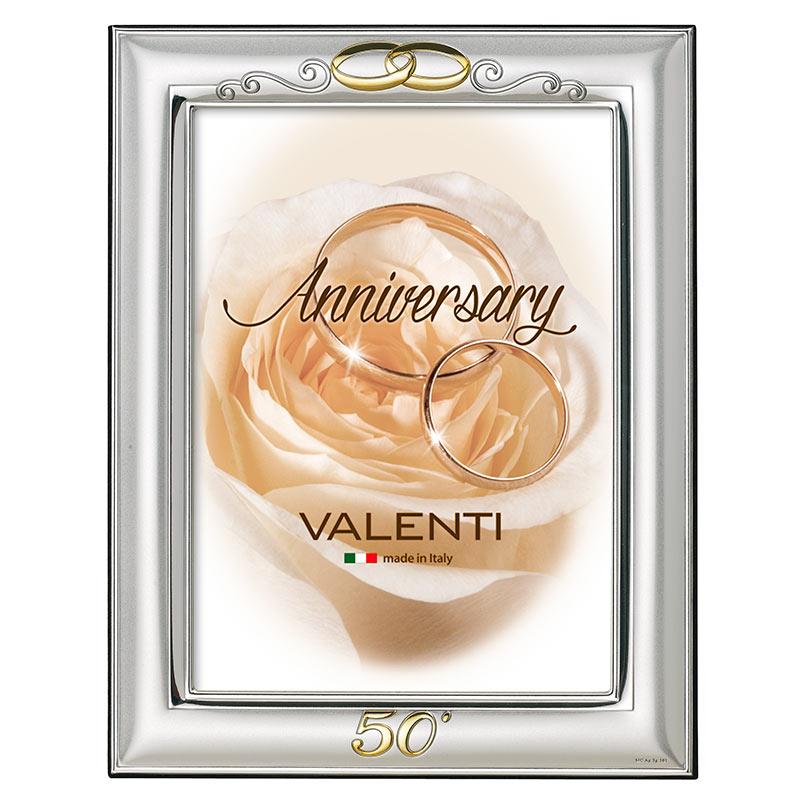 Серебряный сувенир подарок на свадьбу Серебряная фоторамка италия 12201