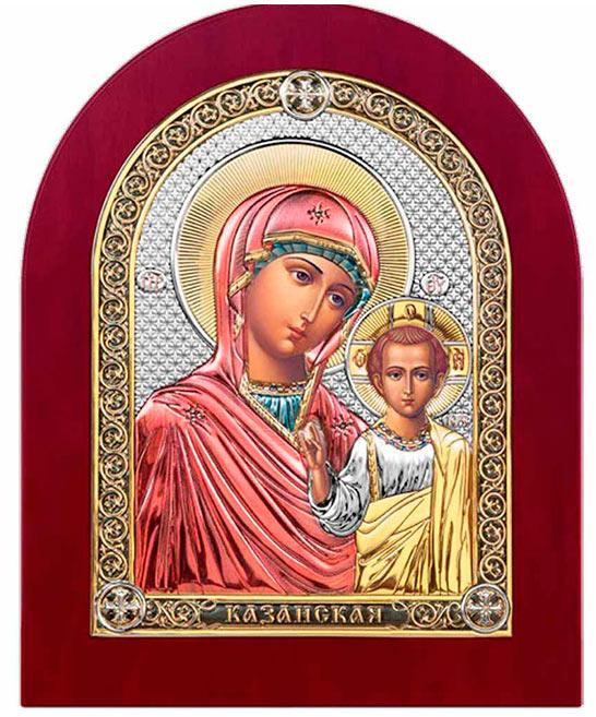 Икона расписаная лаками с деревянной оправой