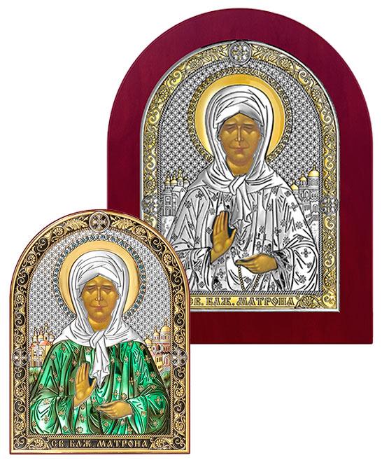 Серебряная Икона Матронакупить