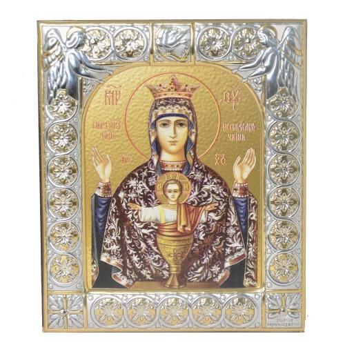 Купить Серебряную икону Даниловского монастыря Неупиваемая чаша