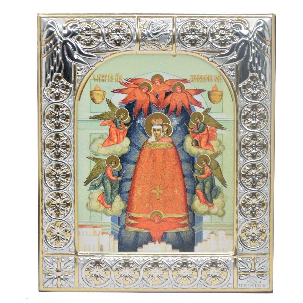 Купить Серебряную икону Даниловского монастыря Прибавление ума