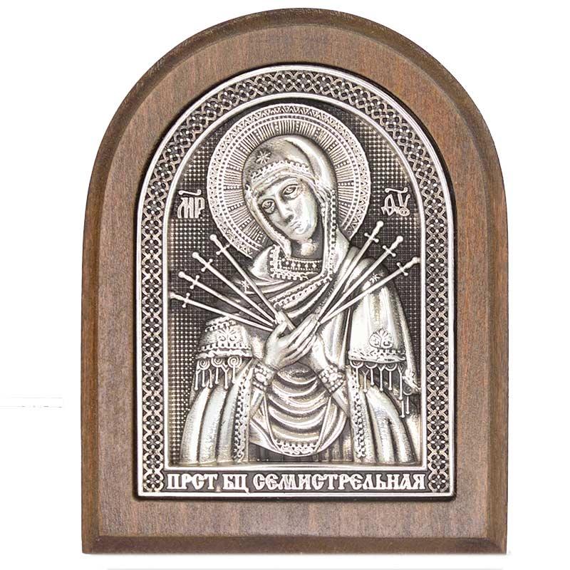 Серебряная икона Российская серебро