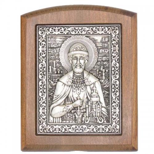 Серебряная икона Российская серебро Донской